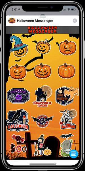 halloween messenger